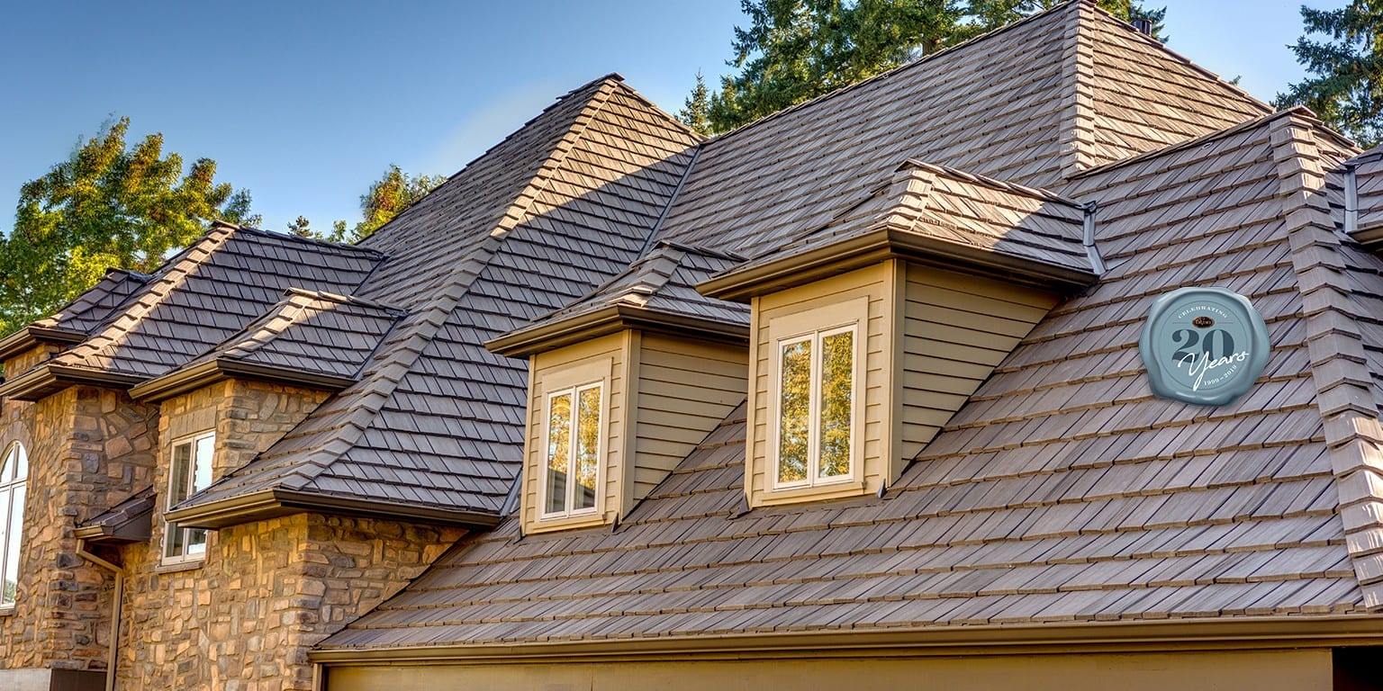 Davinvi Shingles on a roof from Foothills Roofing and Exteriors